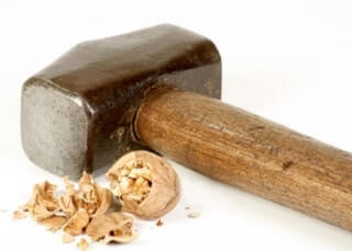 A sledgehammer to crack a nut' - the meaning and origin of