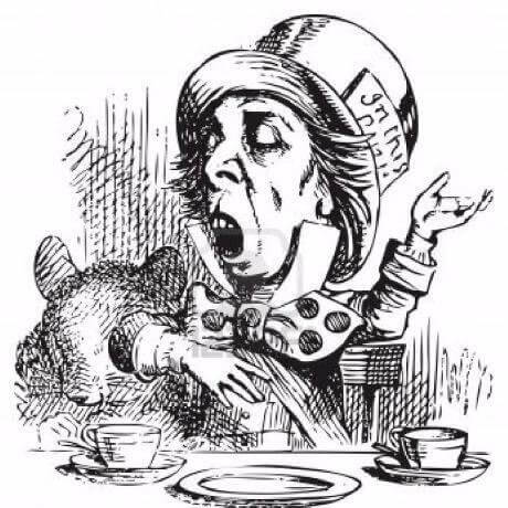 The phrase 'As mad as a hatter' - meaning and origin.