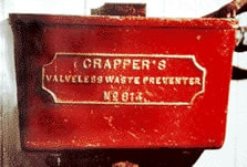 Thomas Crapper Silent Valveless Water Waste Preventer cistern