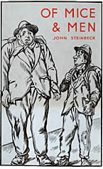 the meaning of steinbecks of mice and men title An explanation of the meaning of the title of mice and men using scenarios and john steinbeck's non-teleological standpoint as a basis for understanding.