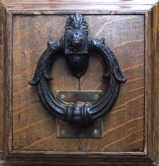 As black as Newgate's knocker