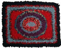 The Link Between Rag And Rug Is A Close One Rugs Were Made From Rags Not So Long Ago Certainly Within My Memory Hearth By Pulling Strips
