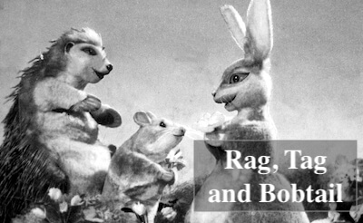 rag, tag and bobtail