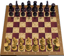 Rank and file chessboard