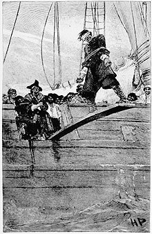 The phrase 'Walk the plank' - meaning and origin.